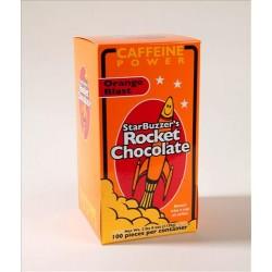 100 Count Orange Blast Rocket Chocolate