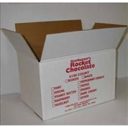 600 Count Dark Mint Rocket Chocolate Case (Free Shipping!)