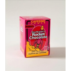 25 Count Raspberry Rocket Chocolate