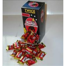 50 Count Dark Chocolate Cherry Rocket Chocolate Box